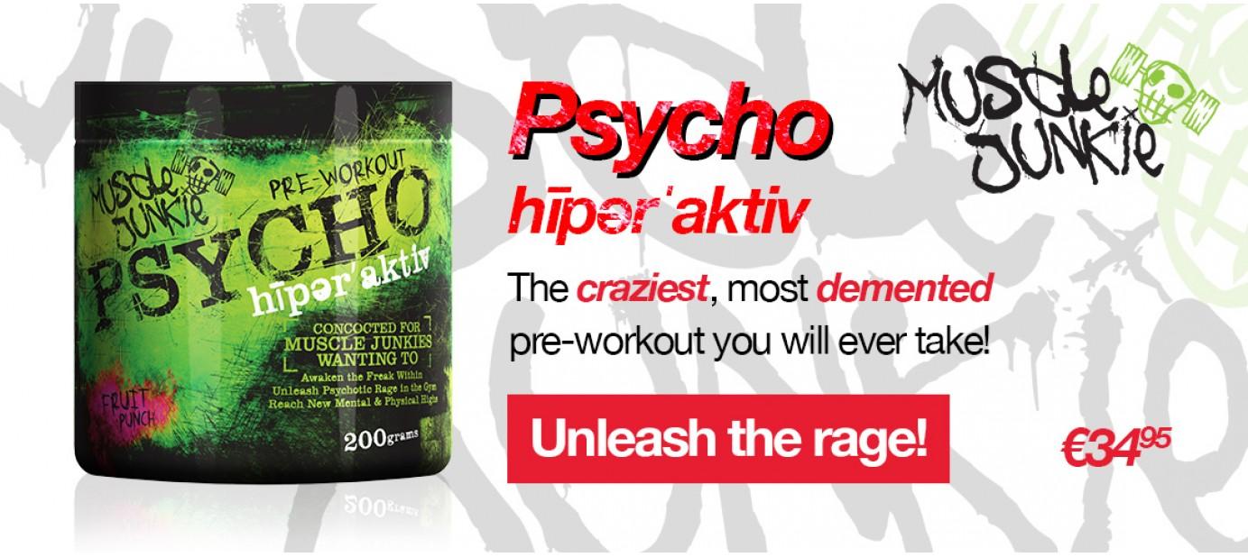 Psycho hīpərˈaktiv