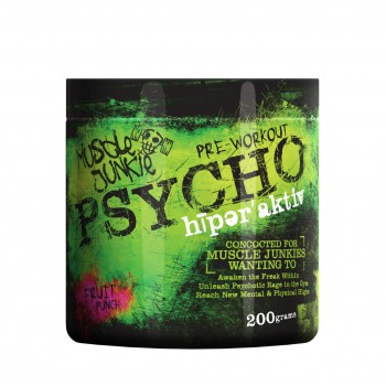 Muscle Junkie Psycho Fruit Punch 200g Pre Workout