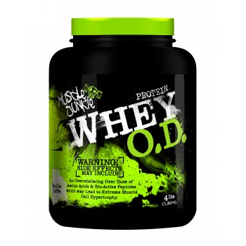 Muscle Junkie Whey OD Vanille Toffee 1.7kg